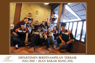 Staff Ikan Bakar Bang Zul