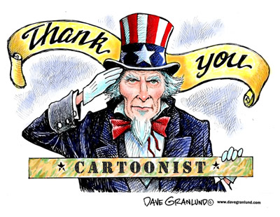 Thank You Cartoonist