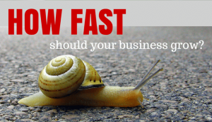How Fast Should Your Business Grow?